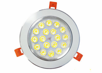 18 W Ceiling LED Down Light AC85-265 V Input Voltage For Shop / Home / Office