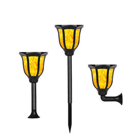 China Waterproof Solar Led Garden Lights Flickering Flames Torches Lights Landscape Decoration supplier