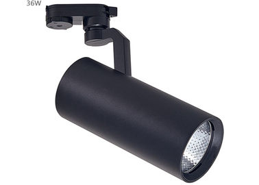 China 30W Black LED Track Lighting AC85-265V For Show Room / Airport / Subway distributor