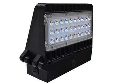 China Black Color Ultra Slim Led Wall Pack Lights For Outdoor Wall Mounted Area distributor